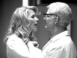 Tooth or consequences: Laura Dern and Steve Martin ache in Novocaine.