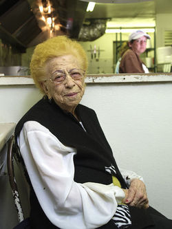 The late Stella Cordova ran Chubby Burger Drive-Inn for more than forty years.