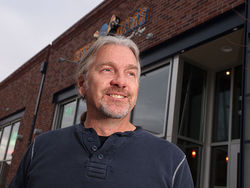 Hot dog! Jim Pittenger opened a brick-and-mortar restaurant on hot, hot Larimer Street.