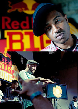 Beat street: Boonie Mayfield (top) and Xperiment Beats represent the Mile High City in this week&#039;s Red Bull Big Tune finals in Chicago.