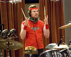 Rainn Wilson rocks as Robert &quot;Fish&quot; Fishman.