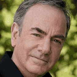 Neil Diamond poses for his senior portrait.