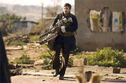 Sharlto Copley stars in the sci-fi thriller District 9.
