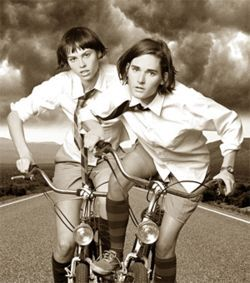 The Ditty Bops pedal their way back to the future.