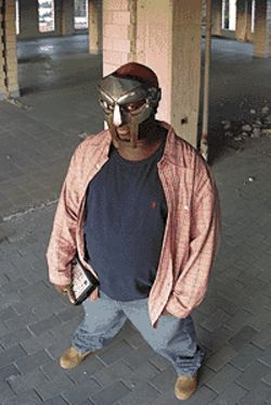 The man behind the mask: Daniel Dumile is MF  Doom.