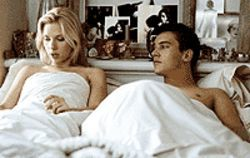 It's love-love for Scarlett Johansson and Jonathan  Rhys Meyers in Match Point.