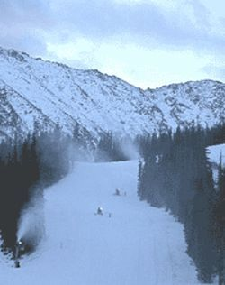Ski season is getting an early start at Loveland and A- Basin.