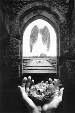 """Threshold,"" by Jerry Uelsmann"