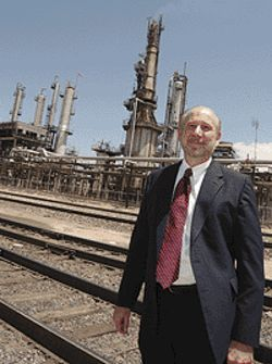 Crude rebuke: Bobby Maxwell helped collect $500  million in oil royalties for the government but says  more is owed.