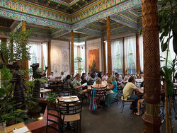 From Tajikistan, with love: The Dushanbe Teahouse in Boulder.