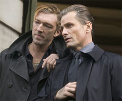 Vincent Cassel and Viggo Mortensen are villainous in Eastern Promises.