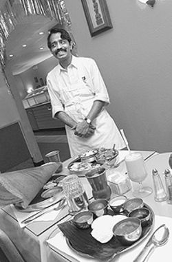 Take a dip: Chef Parimezaghan Rajan spices up  veggie fare at Denver Woodlands.