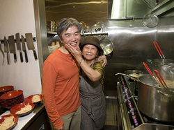 Edwin and Anna Zoe make cooking a family affair at Zoe Ma Ma.