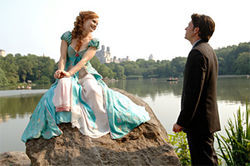 Amy Adams and Patrick Dempsey sink in Enchanted.