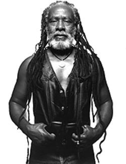 Burning man: Winston Rodney is Burning Spear.
