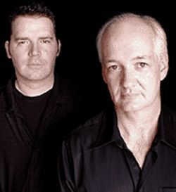 Colin Mochrie and Brad Sherwood get laughs together.