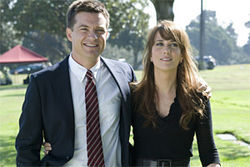Jason Bateman and Kristen Wiig in Extract.