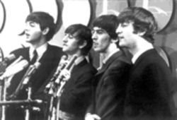 Meet the press: The Beatles' first news conference is  featured in the Maysles brothers' film The First U.S.  Visit.