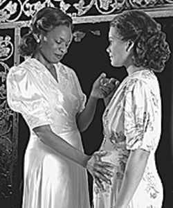 Kim Staunton (left) and January LaVoy in A  Streetcar Named Desire.