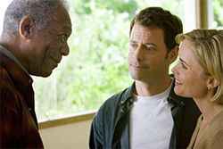 Morgan Freeman, Greg Kinnear and Radha Mitchell serve up a Feast of Love.