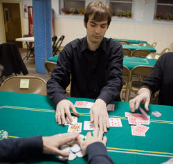 Maxwell Fritz, a Princeton student, made thousands of dollars with online poker, until he lost it all on Black Friday.