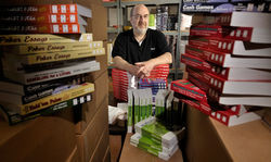 Mike Minkoff's business shipping videos and poker books has dwindled to almost nothing after the feds stepped on the online poker business.