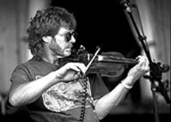 Sam Bush will get electric at the Telluride Bluegrass  Festival, June 19 through 22.