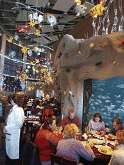 Tanks for the memories: The Aquarium takes diners  to the culinary depths.