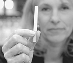 Smoke out: Barbara O'Brien, co-chair of Partners for a  Healthier Colorado.