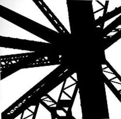 """Industrial,"" by Winter Prather, silver print."