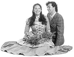 Leslie Whistler and Christopher McKim in Brigadoon.