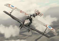 "The Flyboys ""knights of the sky"" are courtesy  of CGI."