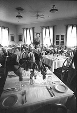 An oldie but a goodie: At a hundred plus, the Chautauqua Dining Hall withstands the test of time -- and taste.