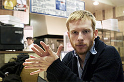 Kevin Devine pondering the age-old quandary: White or wheat?