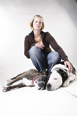 Heidi Tufto moved out of Denver after one of her pit bulls was impounded. See more photos from insid