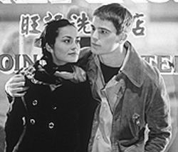 Sex hex: Shannyn Sossamon and Josh Hartnett don&#039;t get too close in 40 Days and 40 Nights.