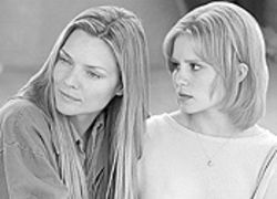 White ice: Michelle Pfeiffer doesn't see Alison Lohman in White Oleander.