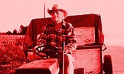 Drive, he said: Richard Farnsworth gets straight to the heart of family ties.