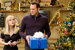 Reese Witherspoon and Vince Vaughn fail to charm in Four Christmases.
