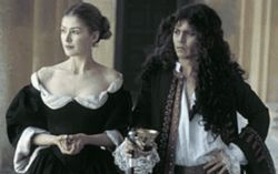 Johnny Depp proves how low he will go in The  Libertine. Poor Rosamund Pike.