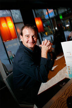 Deal him in: Brian Masters brought free poker to Denver bars.