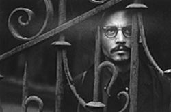The devil may care: Johnny Depp in The Ninth Gate.