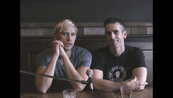 Sex columnist Dan Savage and husband Terry Miller in the inaugural It Gets Better video.