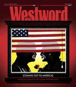 Read last week&#039;s cover story here: &quot;Coming out to America.&quot;