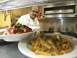 Gemelli's serves Italian food done with East Coast style.