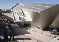 Daniel Libeskind's Frederic C. Hamilton Building for  the Denver Art Museum.