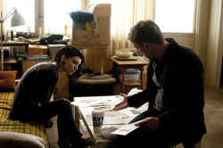 Rooney Mara and Daniel craig star in The Girl with the Dragon Tattoo.