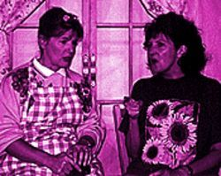 Remembering their favorite dikes: Janet Chamberlain and Joan Staniunas in  At the End of the Rope.