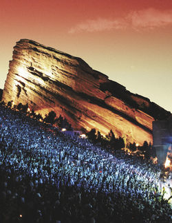 Concerts at Red Rocks are solid gold.