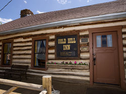 The Gold Hill Inn is open for the season...for its fiftieth-anniversary year. More photos: At the Gold Hill Inn, atmosphere goes a long way.